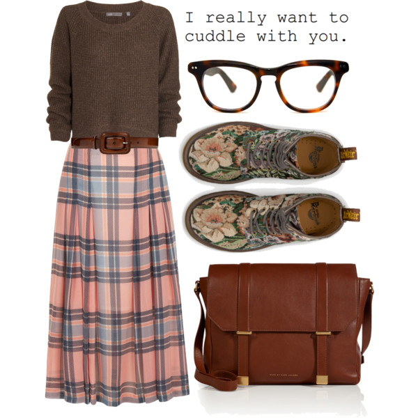 cute nerdy outfit ideas with glasses 5