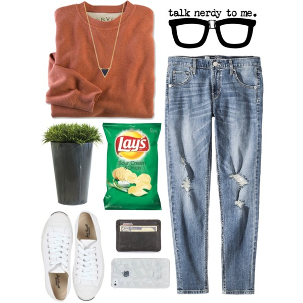 cute nerdy outfit ideas with glasses 6