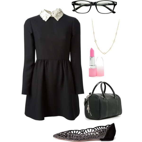 cute nerdy outfit ideas with glasses 7