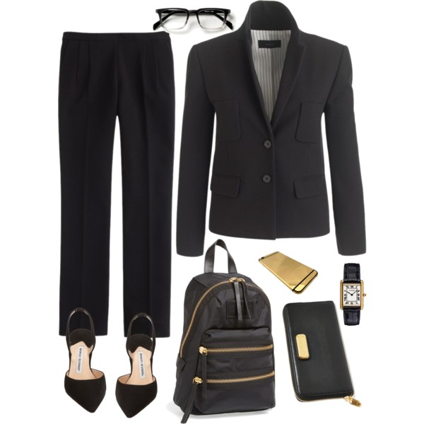 formal business interview outfit idea 2