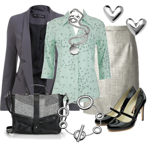 formal business interview outfit idea 7