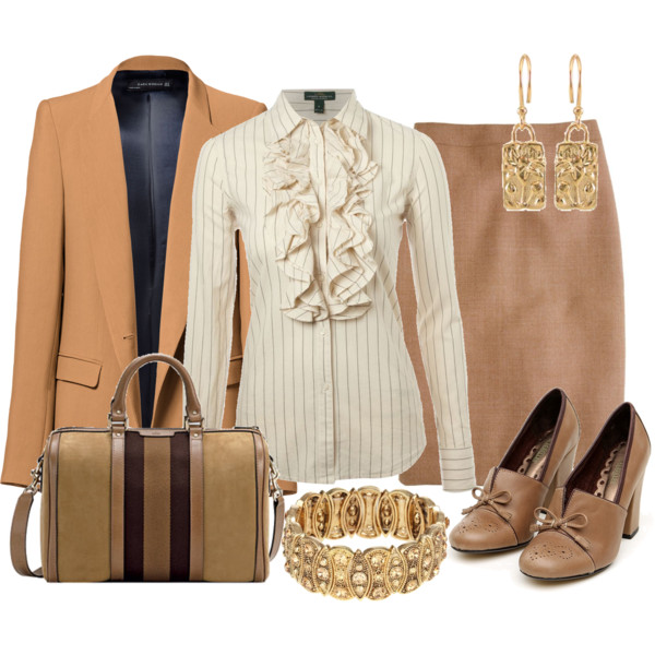 formal business interview outfit idea 8