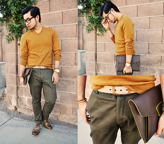 khaki outfit ideas men 10