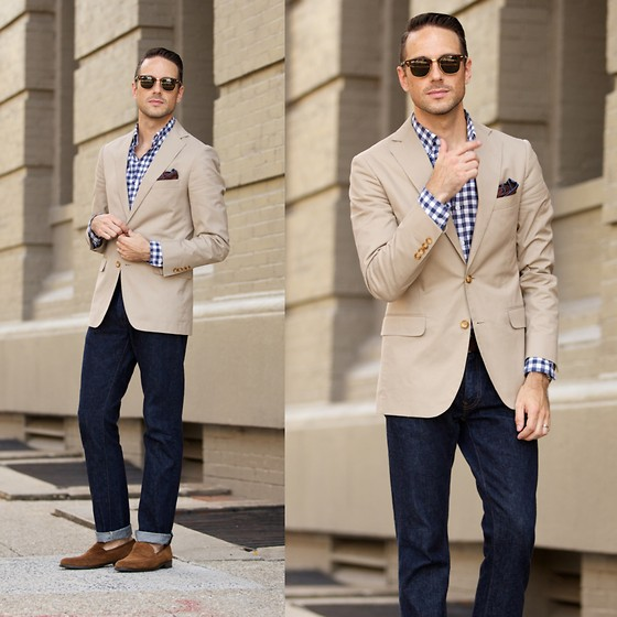 khaki outfit ideas men 12