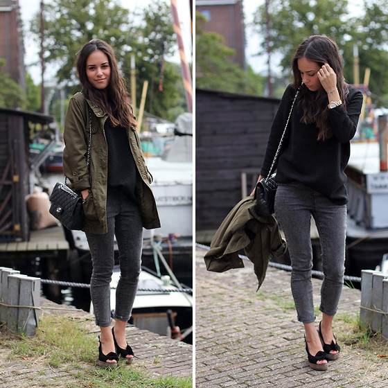 khaki outfit ideas women 11