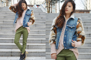 khaki outfit ideas women 6
