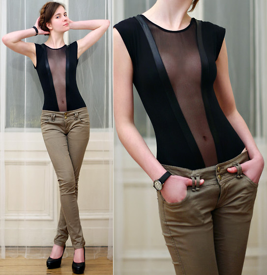 Luxury All Fashion Show Trendy Khaki Pants For Women