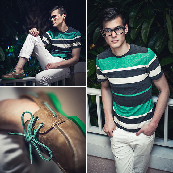 outfit ideas with men sperry shoes 4