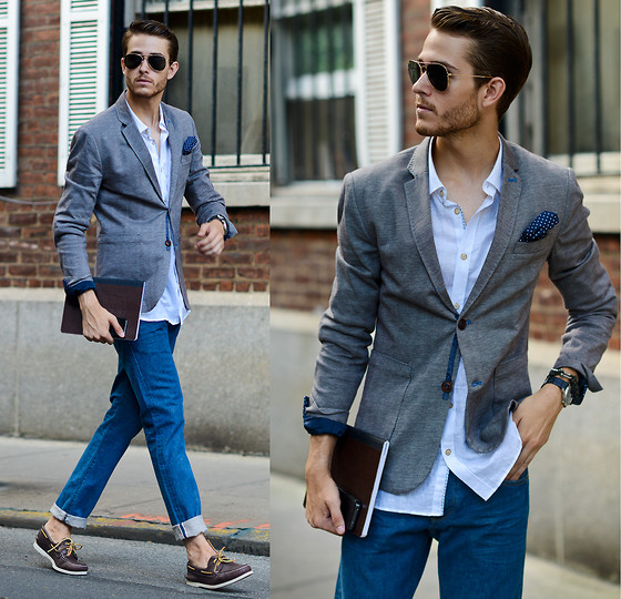 outfit ideas with men sperry shoes 8