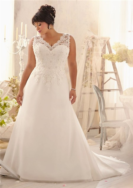 plus size wedding dress gown 3