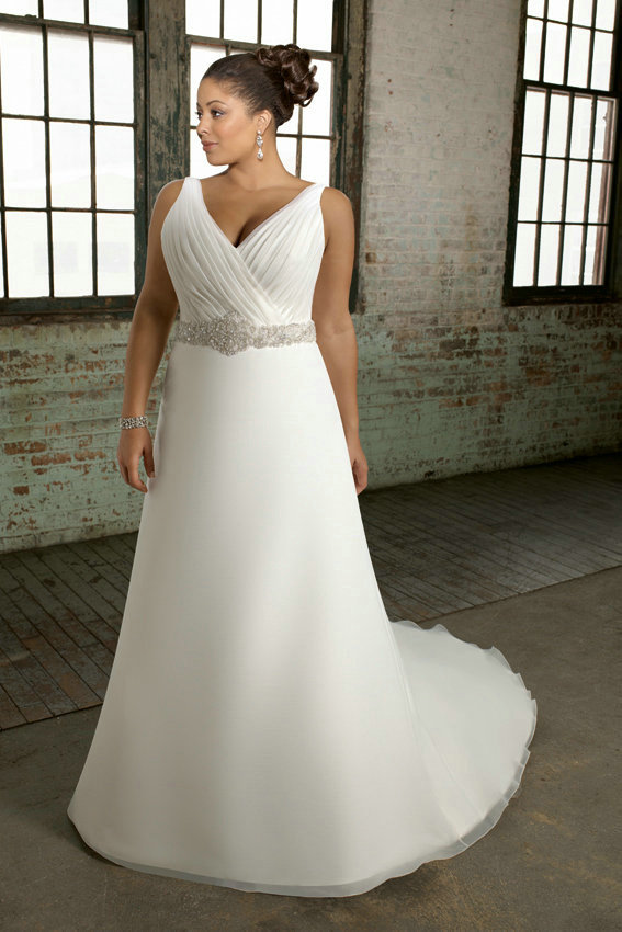 plus size wedding dress gown 7