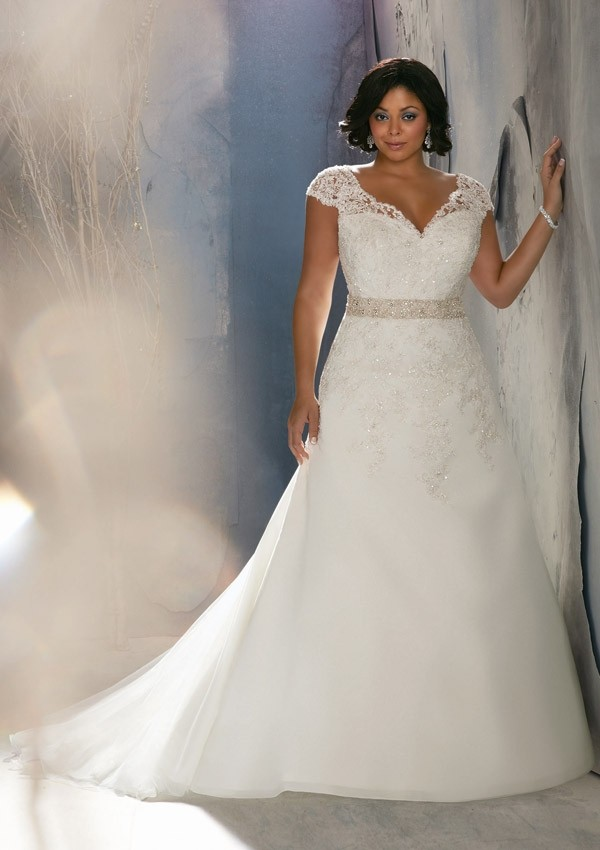 plus size wedding dress gown 8