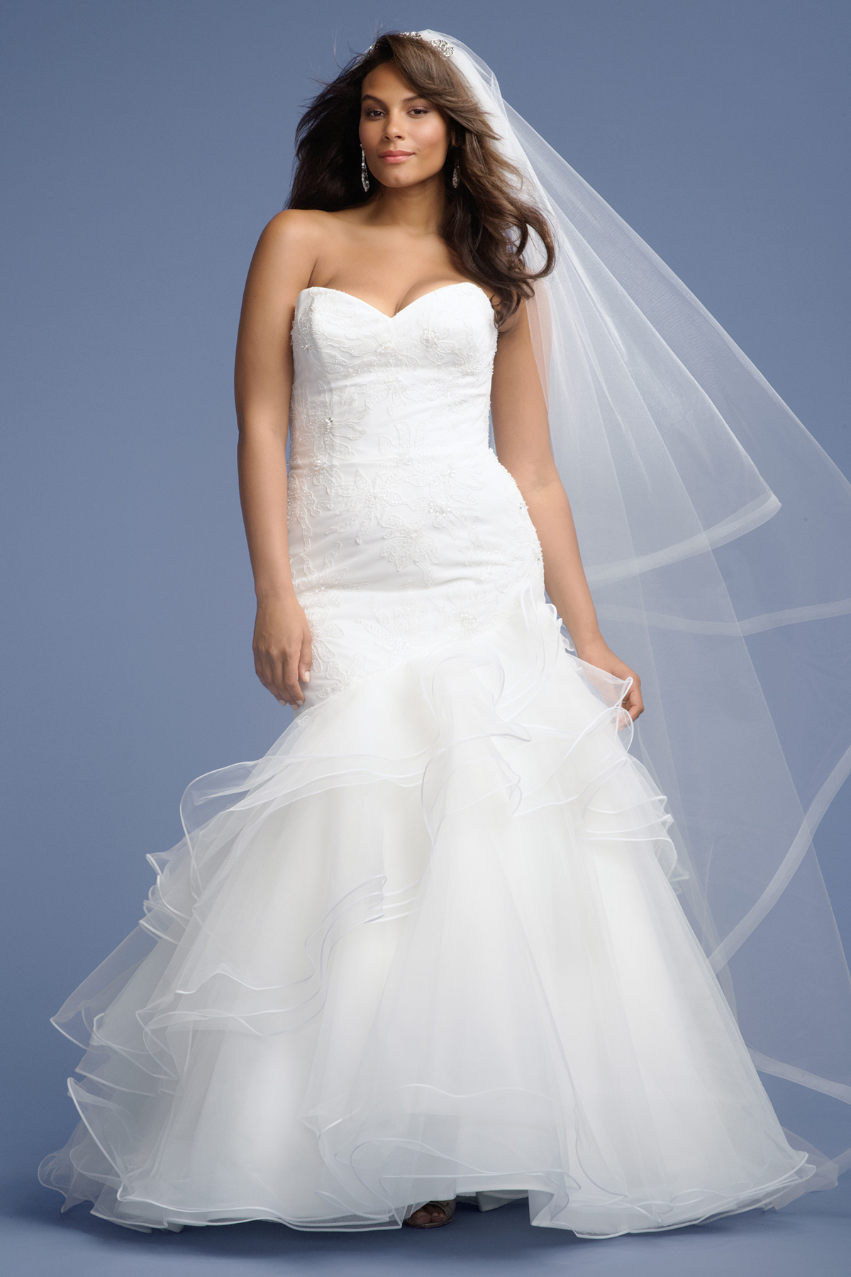 Plus size wedding dresses for What is my wedding dress size