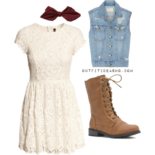 preppy outfit ideas with combat boots 11
