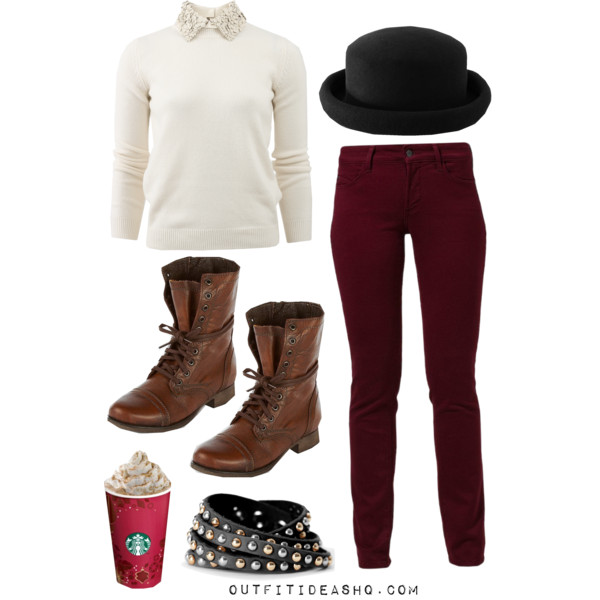 preppy outfit ideas with combat boots 3