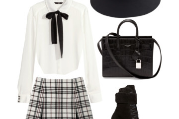 preppy outfit ideas with combat boots 8