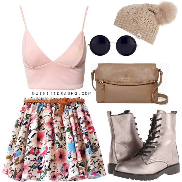 preppy outfit ideas with combat boots 9
