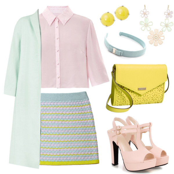 preppy outfit ideas with skirts 3