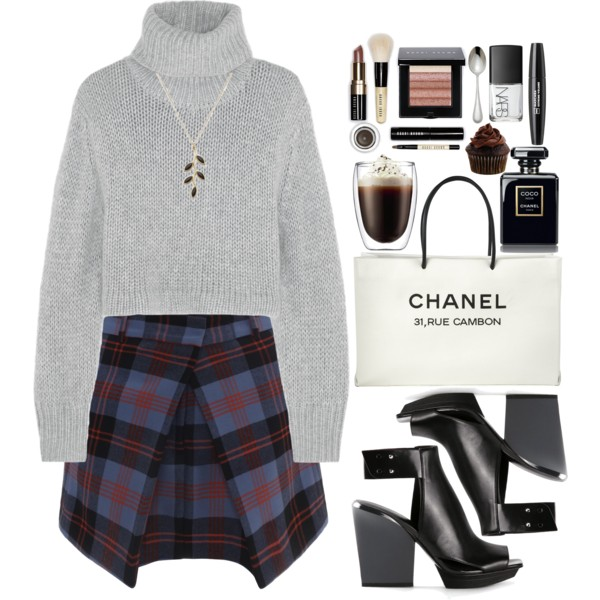 preppy outfit ideas with skirts 4