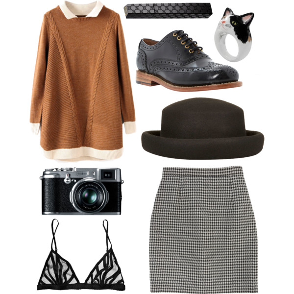 preppy outfit ideas with skirts 5