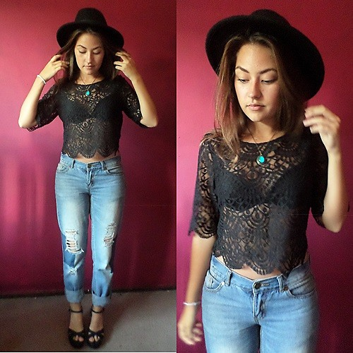 different types of lace outfits 7