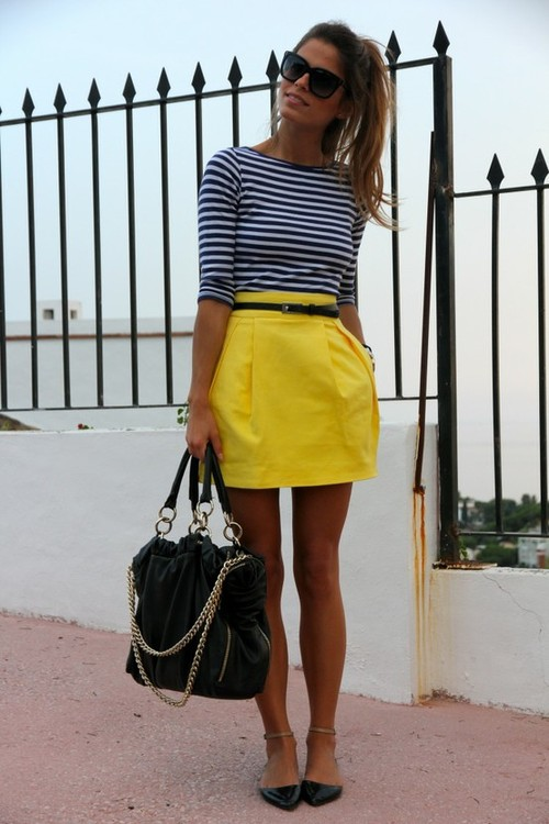 high school preppy girl outfit 11