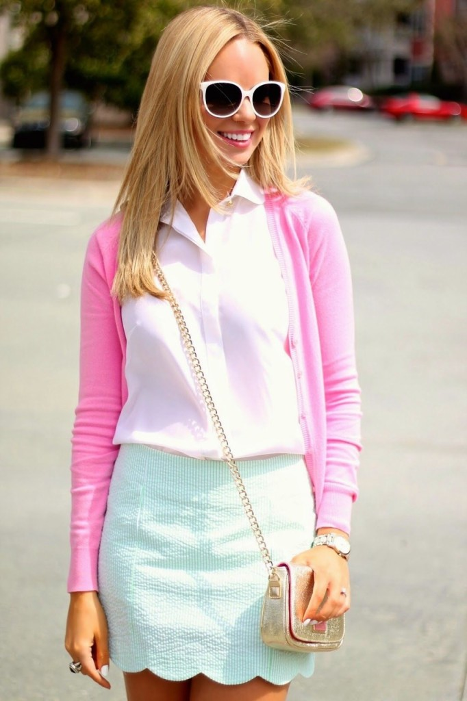 high school preppy girl outfit 6