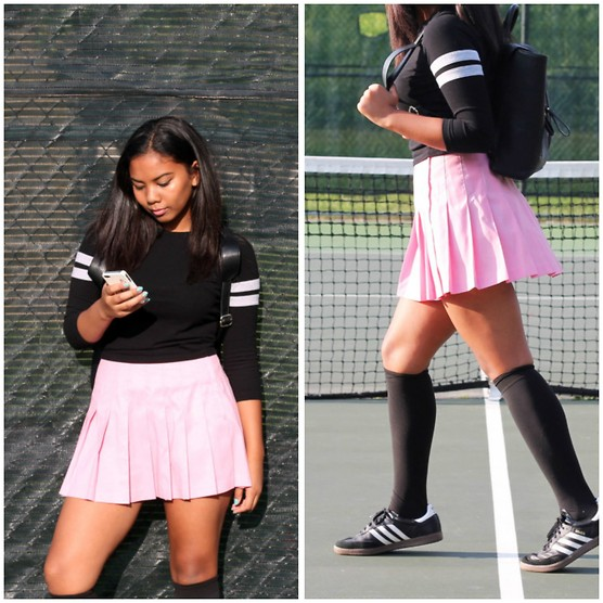 tennis skirt outfit ideas 7