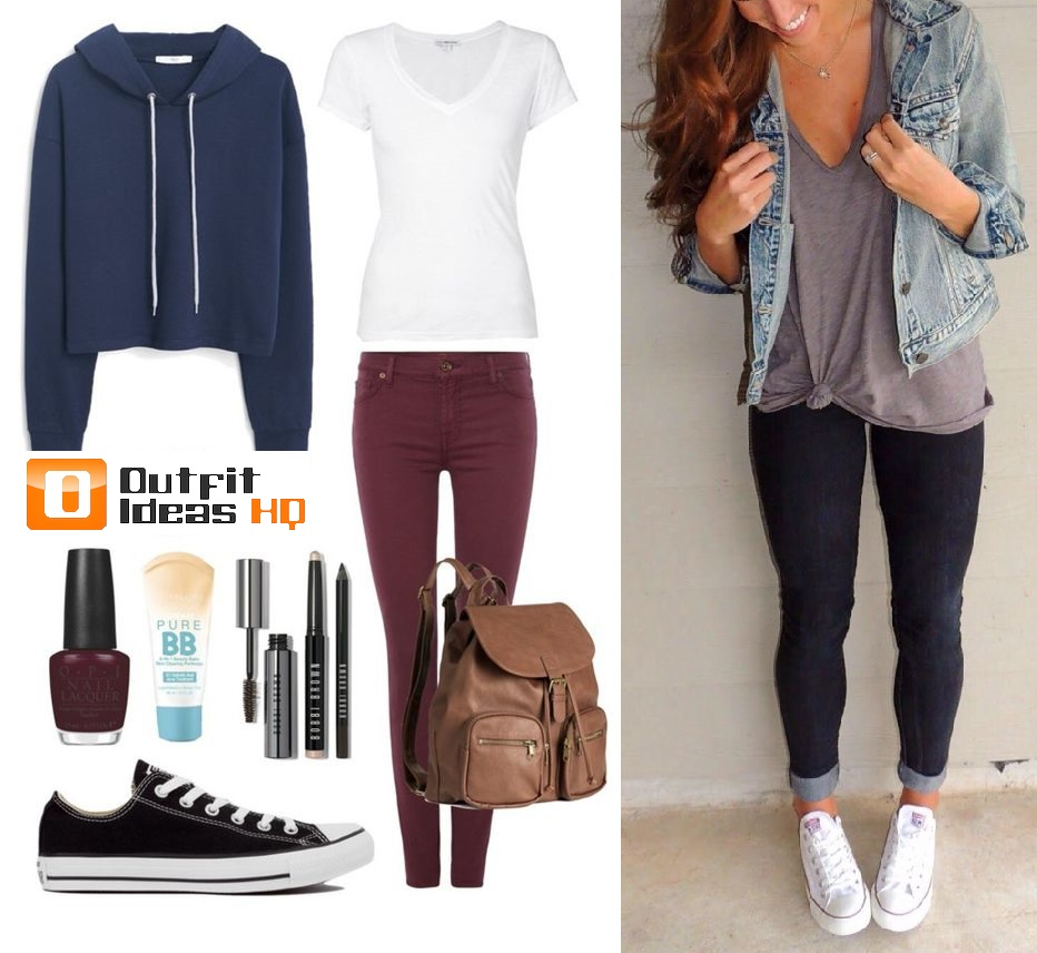Fall cute outfits for college