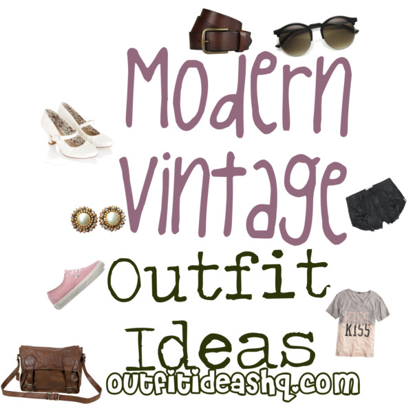 Modern Retro Outfit Ideas 15