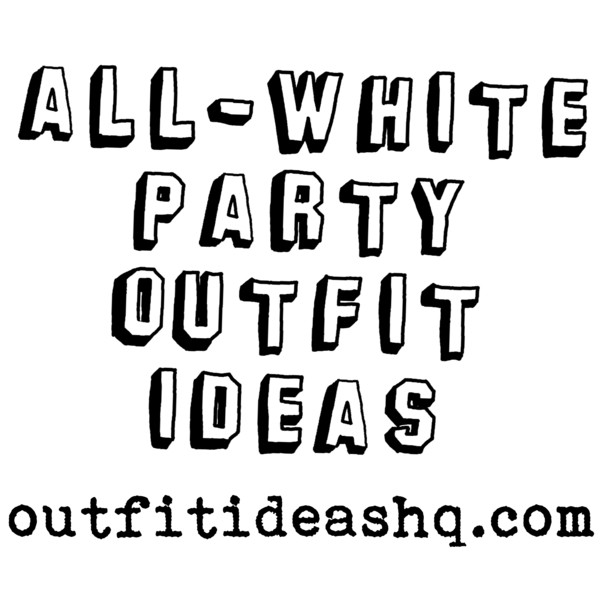 All white party logo images galleries for All white party decorations