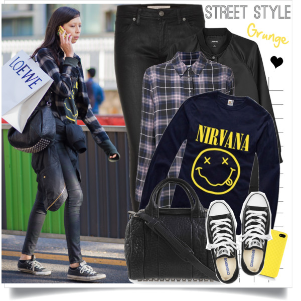 grunge fashion outfit ideas 1
