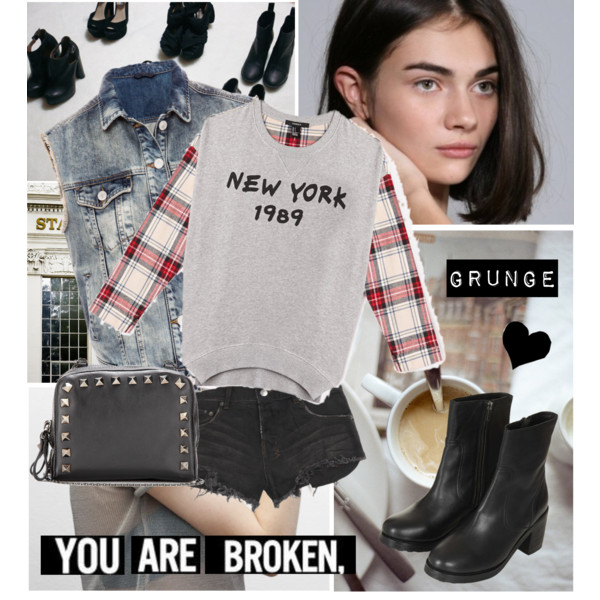 grunge fashion outfit ideas 3