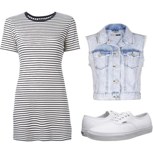 how to style denim jean vest 13