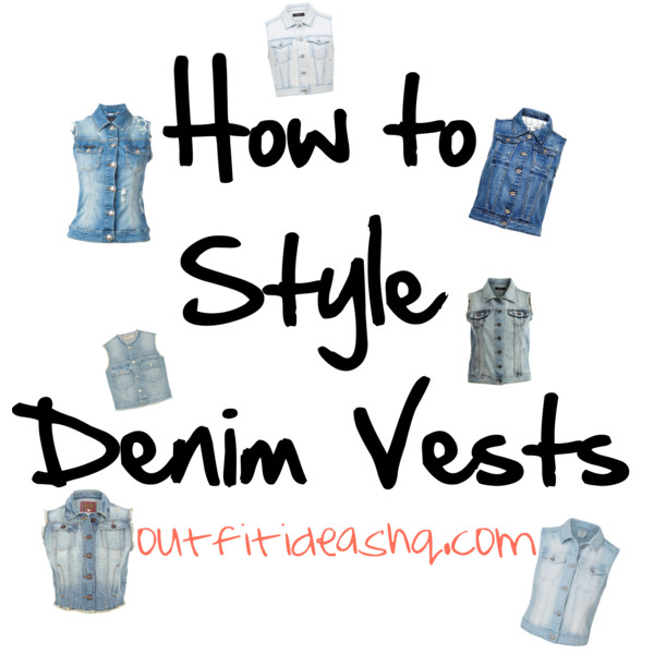 how to style denim jean vest 14