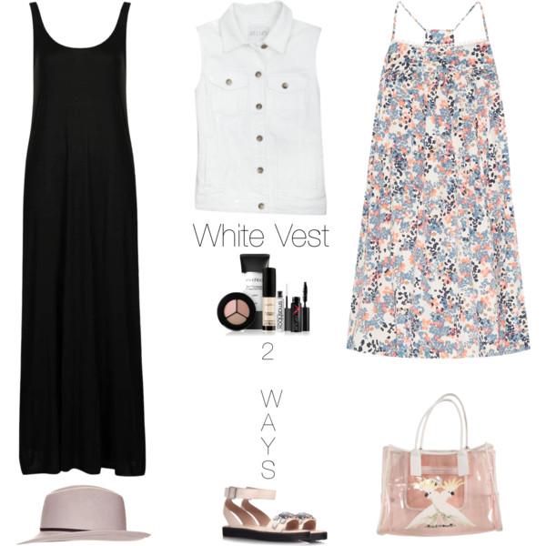 how to style denim jean vest 2