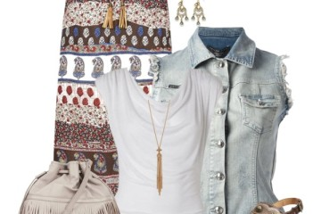 how to style denim jean vest 4