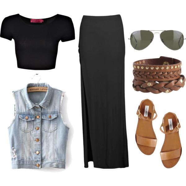 how to style denim jean vest 5
