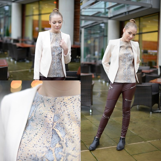 leather pants outfit ideas style 5