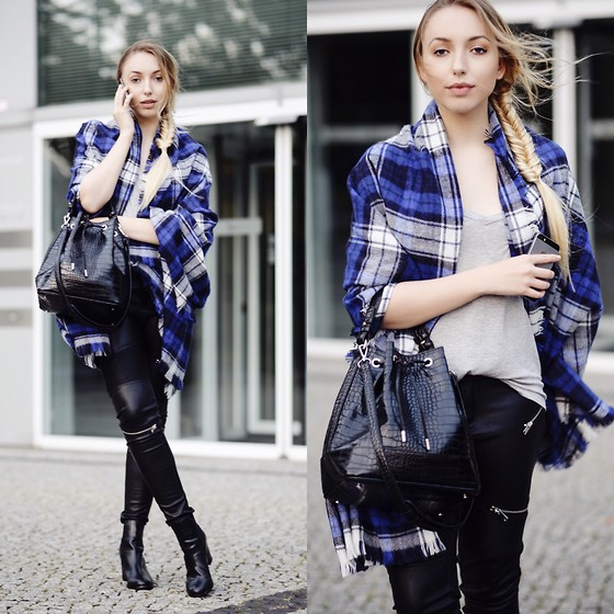 leather pants outfit ideas style 6