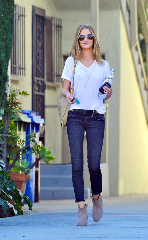 How to Style Your Plain White Tee