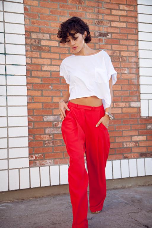 styling plain white tee shirt 4