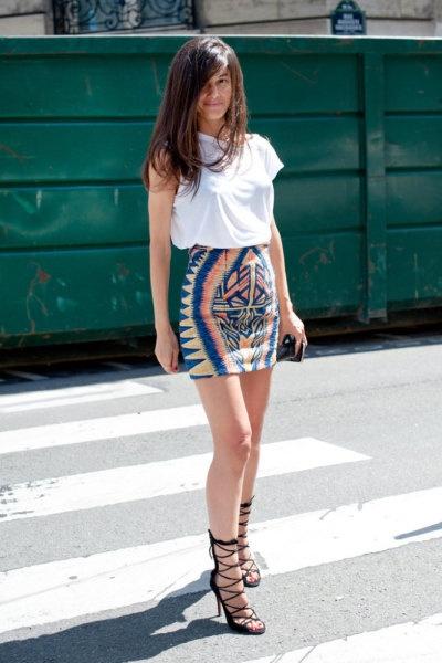 styling plain white tee shirt 7