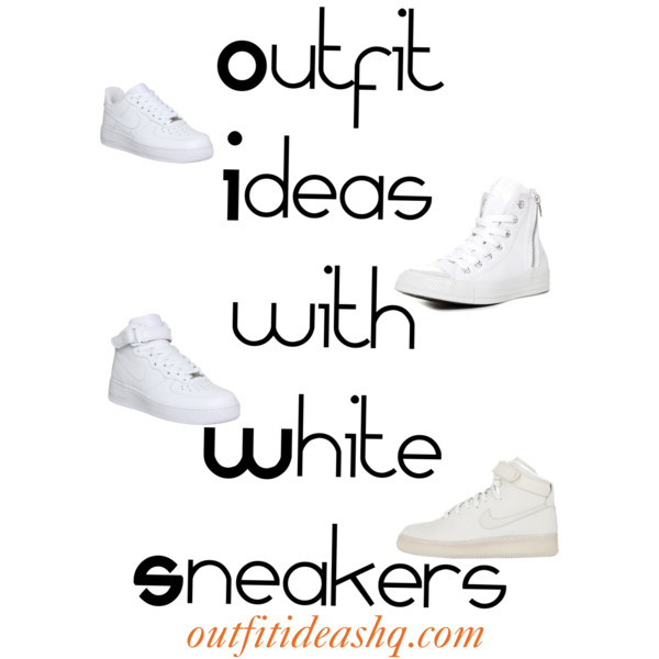 white sneakers outfit ideas 11
