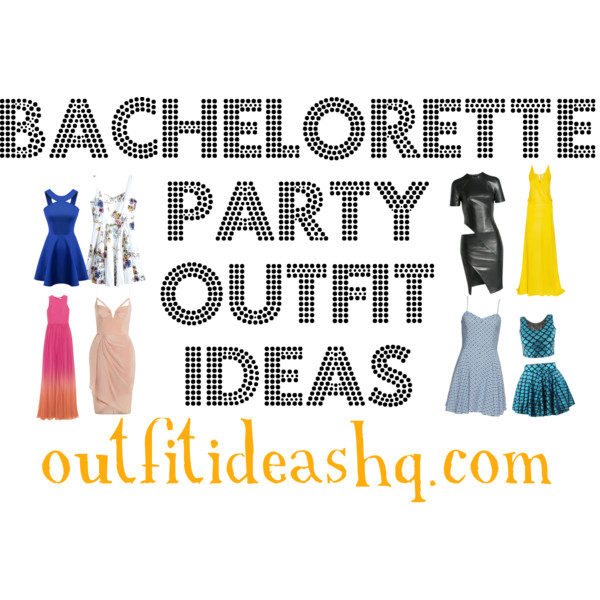 bachelorette party dress outfit idea 12