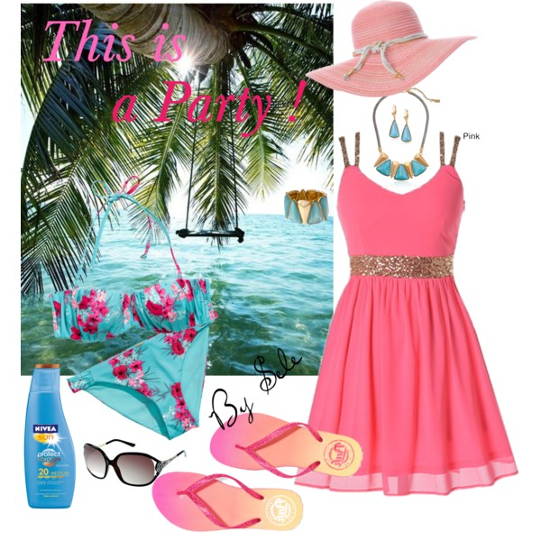 Beach Party Outfit Ideas 1