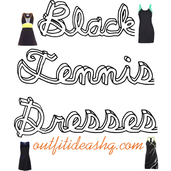 black tennis dress 11