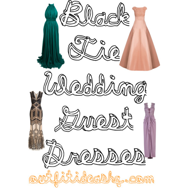 Black Tie Wedding Guest Outfit 12