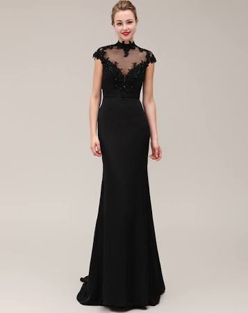 Black Tie Wedding Outfit 5