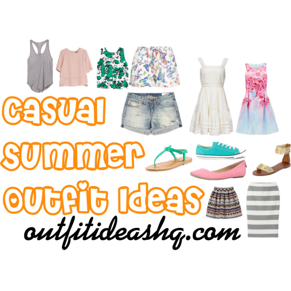 casual summer outfit ideas 14